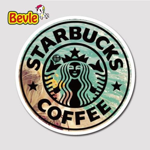 Bevle 2722 Cafe Coffee Brand Badge Tide Waterproof Stickers Laptop Luggage Fashion Car Graffiti Cartoon 3M StickerBevle 2722 Cafe Coffee Brand Badge Tide Waterproof Stickers Laptop Luggage Fashion Car Graffiti Cartoon 3M Sticker