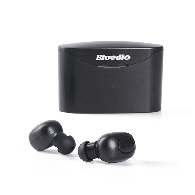 Bluedio T-elf TWS Bluetooth Earphone 5.0 original with charging boxin ear sport wireless headphone for music and cell phones 1