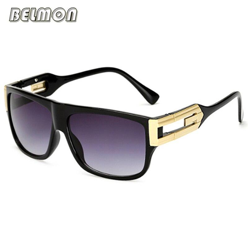 Belmon Fashion Square Sonnenbrille Männer Frauen Luxury Brand Designer Sonnenbrille Männliche Damen UV400 Weibliche Gafa Oculos de sol RS589