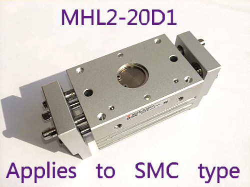SMC type MHL2-20D1 wide type gas claw pneumatic finger parallel opening and closing, MHL2 20D1 MHL series smc brand new original finger cylinder grip claw claw mhl2 16d