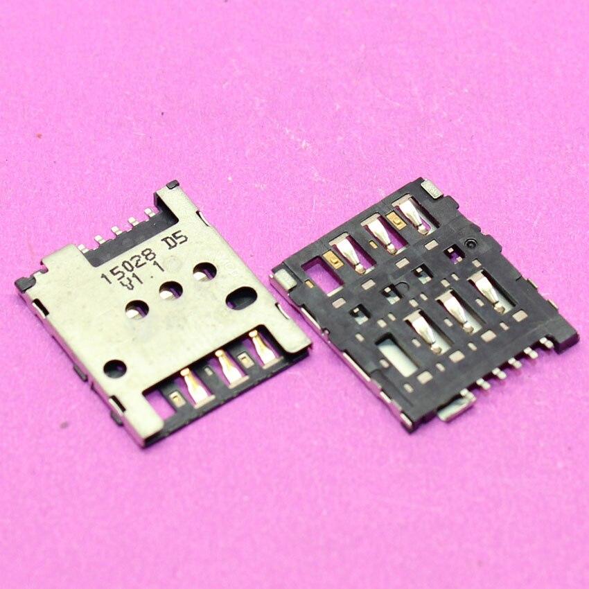 YuXi New SIM Card Slot Holder Port Replacement Repair For Nokia Lumia 630 635 636 SIM Card Socker Tray Connector.