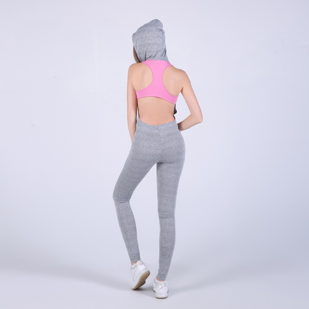 hooded one piece catsuit jumpsuit jogging suit jegging suit for activewear brazilian style long hipkini pink grey yoga pant workout pant fitness outfits running gear wear (13)