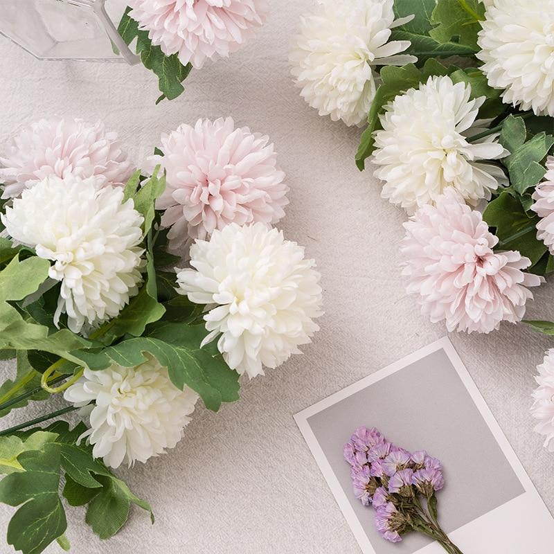 Artificielle Mini Fleur D'hortensia Faux Taraxacums Branche Accueil Parti Décoration De Mariage Fleur Accessoires Cadeau du Jour de Valentine dans Artificielle et Fleurs Séchées de Maison & Jardin