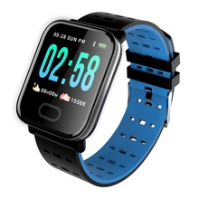 Moresave Smart Watch Waterproof Bluebooth Wristbands Heart Rate Blood Pressure Monitor Fitness Tracker For Android iOS цена