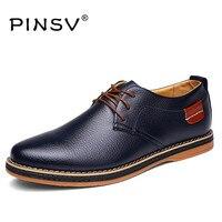 ZOCN Flats Men Shoes Luxury Brand PU Leather Shoes Men Black Oxford Shoes For Men 2016