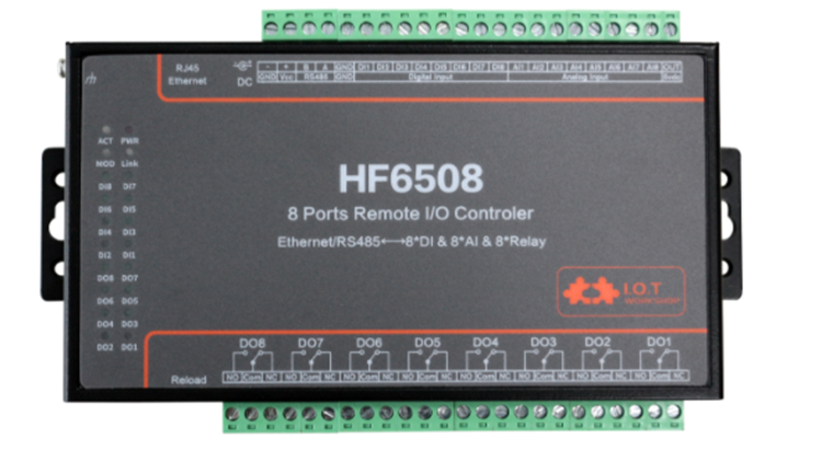 P2p Remote I/o Controller 8di 8do 8ai Digital Analog To Rs485 Ethernet/gprs/wifi Serial Server Device Modbus Rtu Tcp Gateway Dtu Back To Search Resultscomputer & Office