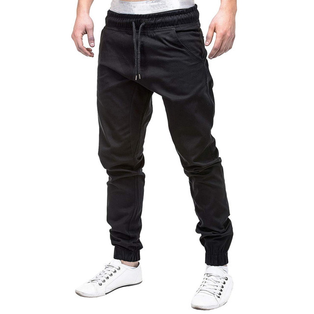 2019 men sweatpants cotton Casual pants slim fit Drawstring Harem Sweatpants Slacks Casual Elastic Pockets Trousers 3.22