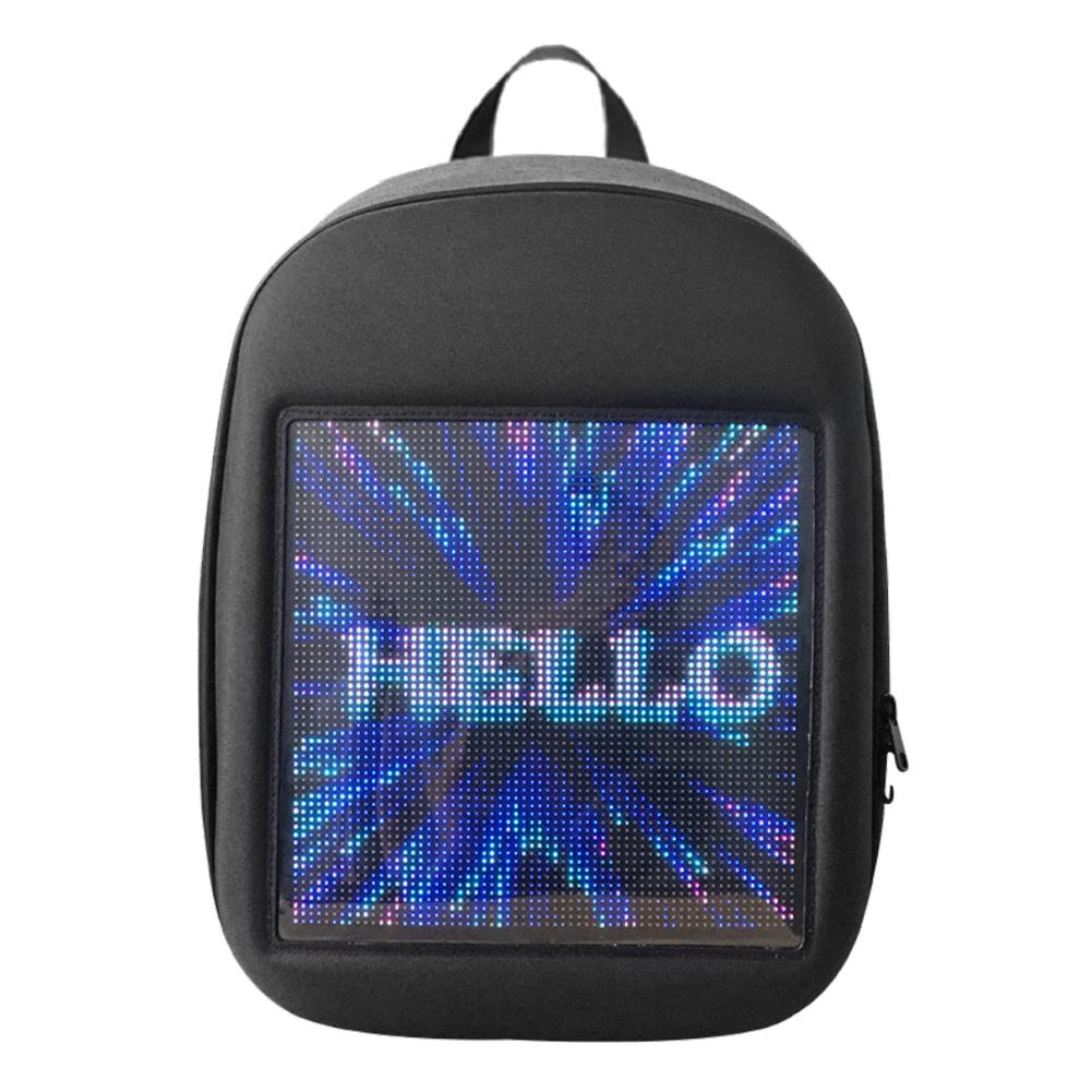 Fashion WiFi Smart LED Advertising Backpack Unisex Dynamic Highlight Travel Bag Fashion WiFi Smart LED Advertising Backpack Unisex Dynamic Highlight Travel Bag