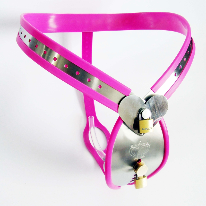 Stainless Steel Male Chastity Belt Stealth Chastity Cage With Urine Tube Chastity Device Cock Cage Penis Lock Adult Game Sex ToyStainless Steel Male Chastity Belt Stealth Chastity Cage With Urine Tube Chastity Device Cock Cage Penis Lock Adult Game Sex Toy