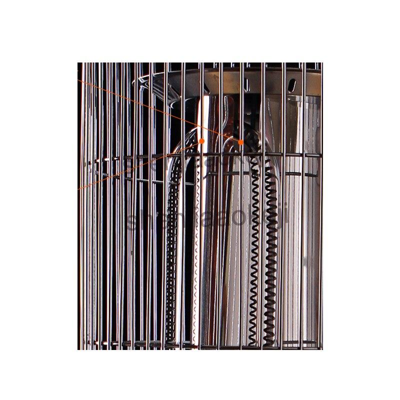220 v Elektrische Heizung Haushalt heizung herd 2 Getriebe Control Mute Elektrische Heizlüfter Für Winter Wärmer Multi funktion luft heizung - 6