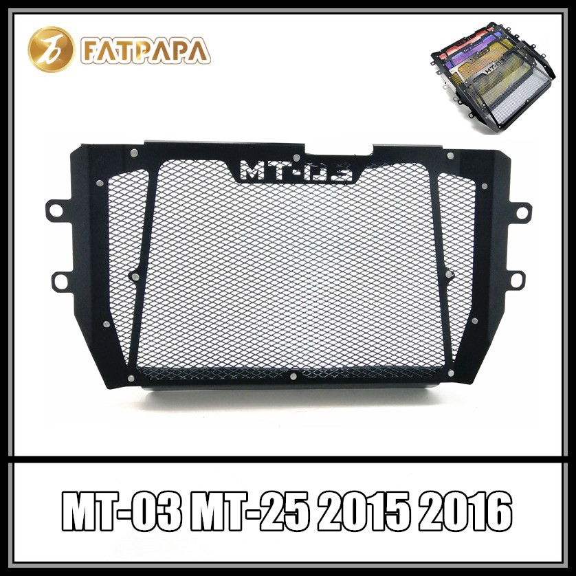 MT 03 25 Motorcycle Accessories Water Tank Radiator Protection FOR YAMAHA MT-03 MT-25 MT03 MT25 2015 2016 2017 2018 for yamaha mt 03 2015 2016 mt 25 2015 2016 mobile phone navigation bracket page 7