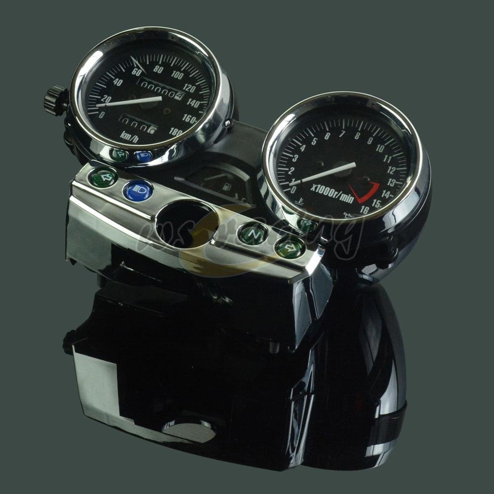 Motorcycle New 180 OEM Tachometer Odometer Instrument Speedometer Gauge Cluster Meter For Kawasaki ZRX400 1998-2008 for kawasaki ninja 300 ex300a 2013 2015 motorcycle oem gauges cluster speedometer speedo tachometer instrument