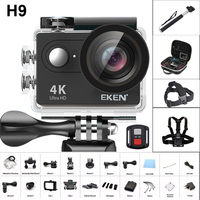 2019 New Original EKEN H9/H9R Remote Ultra 4K Full HD 1080P WiFi Sport Action Camera 2.0 LCD Video DV Sport Waterproof Camera