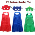 PJ Cartoon Mask Toy Cosplay Mask&Cloak Jouet Les Pyjamasques Anime Connor Greg Amaya Children Christmas Brinquedos Gift