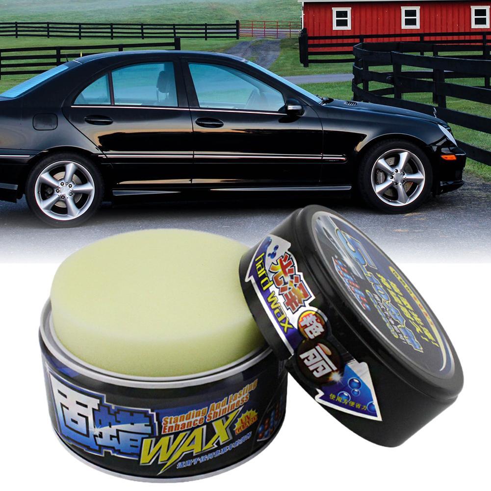 Car Polishing Wax Paint Waterproof Care Scratch Repair Car Styling Crystal Hard Car Wax Polish Scratch Remover