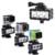 Bajo el agua 30 m Impermeable POV de Alta Potencia Regulable LED de Vídeo Luz de Flash de Relleno noche de luz para cámara de acción gopro hero 4 3 + 3 2 1