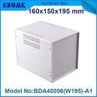 1 Piece Iron Box Electronic Project Diy Box Case Acrylic Project Enclosure 160 H X150 W
