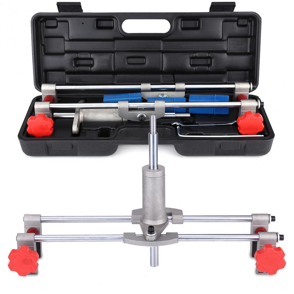 Security Door Lock Mortiser Kit 3 Cutters Door Lock Mortiser Fitting Jig Mortice Kit with Wrench