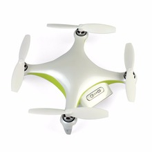 Alpha CAM Mini Smart Camera font b Drone b font White UAV with Camera HD 4K