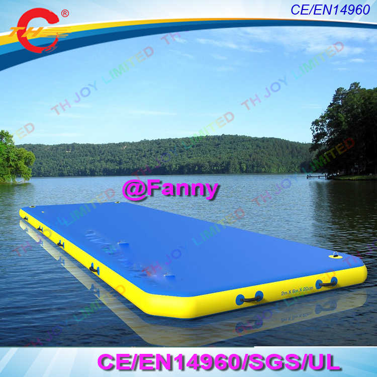 Detail Feedback Questions about Inflatable Floating Dock