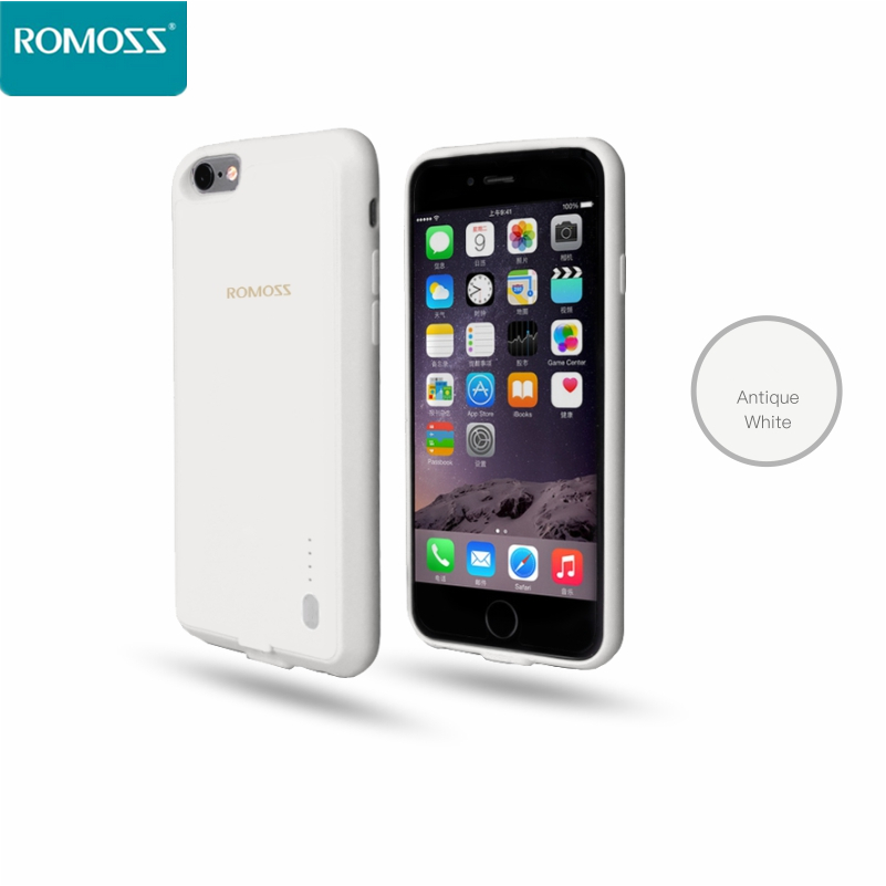 Original 2016 New ROMOSS Encase 6S 2000mAh Battery Charger Case for iPhone 6/ iPhone 6S Case