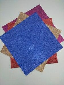 Image 3 - 20 штук 12х12 альбом для скрапбукинга, блестящая бумажная карта, Ремесло Украшение для открыток
