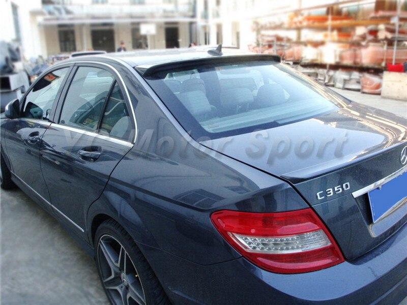 2008-2013 Mercedes Benz W204 C-Class Sedan Coupe AS Style Roof Spoiler CF (22).jpg