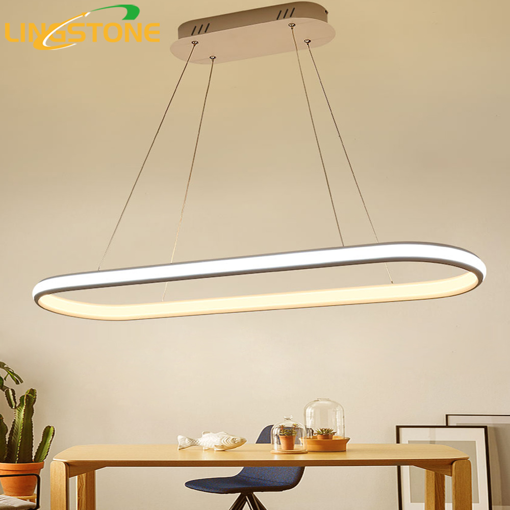Pendant Lamp Led Light Hanglamp Suspension Luminaire Kitchen Lighting Fixture Lustre Hanging Ceiling Restaurant Living Room