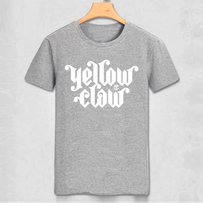 Geel Claw heren Bla T-shirt Bloed Voor Genade Re DJ Leven Nieuwe Mode Van ONS Grappig Casual Kleding zomer Stijl Katoen Tee
