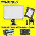 Yongnuo YN300 YN-300 aire LED cámara de vídeo 3200 K - 5500 K con NP-F750 Decoded batería + cargador para Canon Nikon y