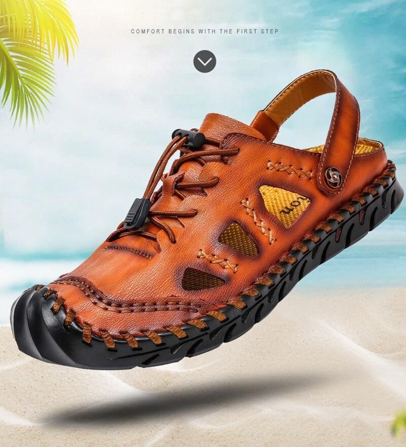 a0b8d12b770e9 HOT SALE] YIGER New men sandals outside man beach sandals male ...