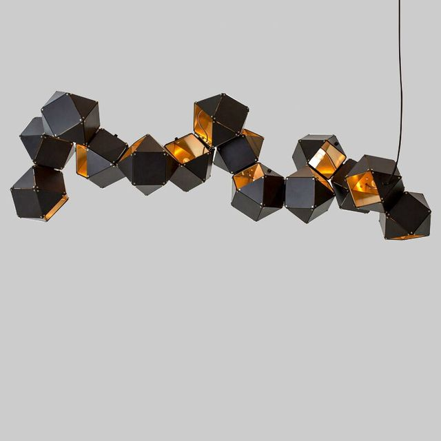 Welles Post Moderne Metall Kreative Dna Anhanger Weiss Schwarz Lange