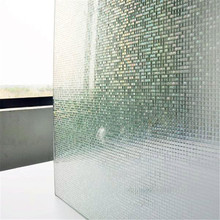 45*200 cm Opaque Checkbox mosaic Frosted Window Films PVC Static Cling Self adhesive Privacy Glass Stickers
