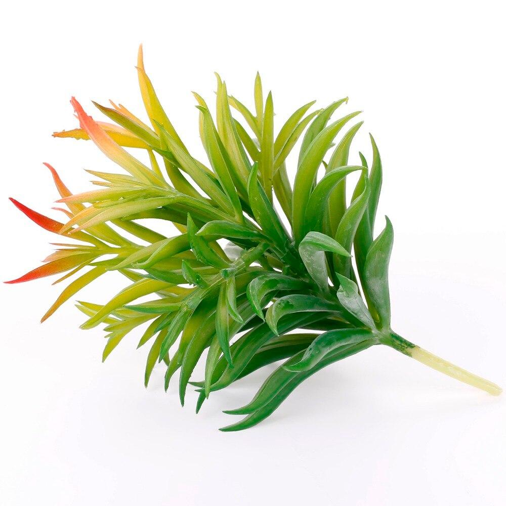 Dianthus artificial plantas verdes suculentas artificiales plantas de - Para fiestas y celebraciones - foto 4