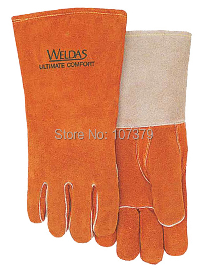 Leather Work Glove tig mig safety glove Split Cow Leather Welder Glove welder machine plasma cutter welder mask for welder machine
