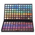 Hot venda portáteis 168 cores da paleta da sombra conjunto de maquiagem profissional sombra de olho em pó neutral shimmer matte eye cosméticos kits