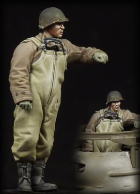 Resin toys 35069 M8 Greyhound crewman (to tower) Free shipping