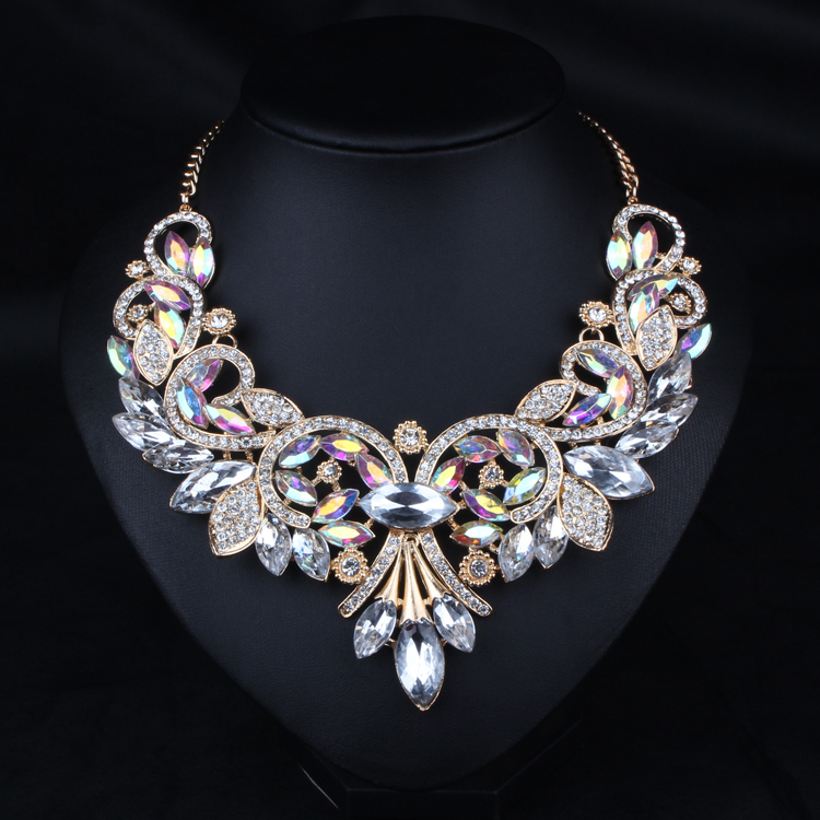 Luxury necklace 2015 fashion statement necklace&pendant ...