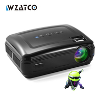Cheaper External Android 4 4 4 Smart WiFi 5000Lumens Full HD 1080P Multimedia LED 3D Projector