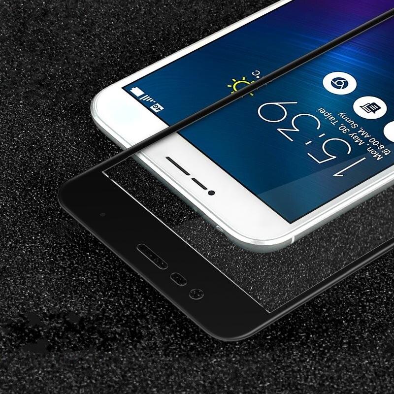"""Для Asus Zenfone 3 Макс 5.2 """"9 9н 2.5D полное Покрытие Из Закаленного Стекла Протектор Экрана Для Asus Zenfone 3 Макс ZC520TL пленки для Стекла"""
