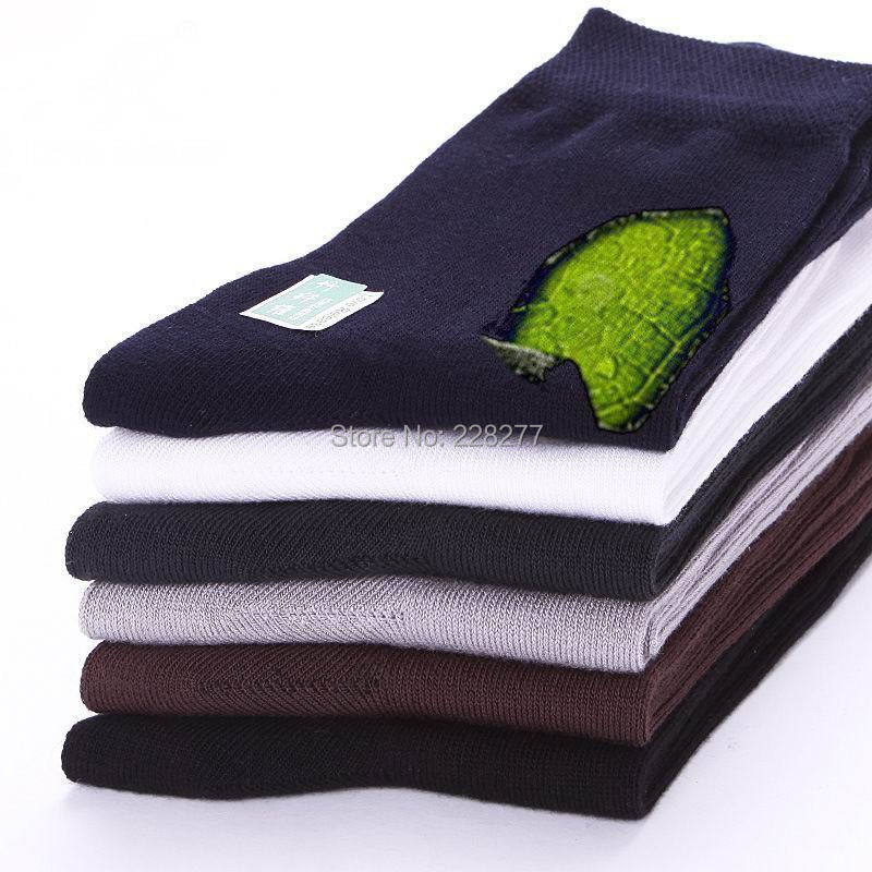 20pcs=10 pairs/lot Mans Bamboo fiber high qualtiy Socks mens socks men sox male man sock