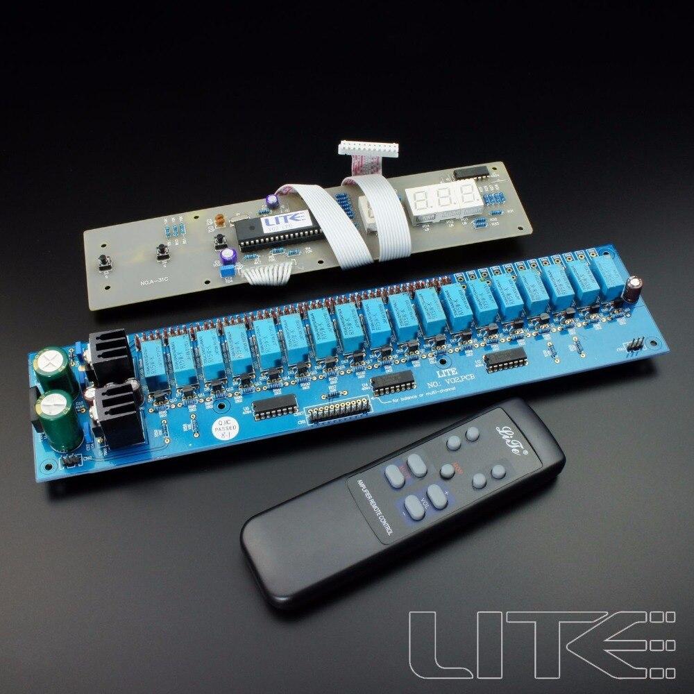 V02 2 Channels Remote Volume Control Kit Progressive Volume Control Board inhuman volume 2