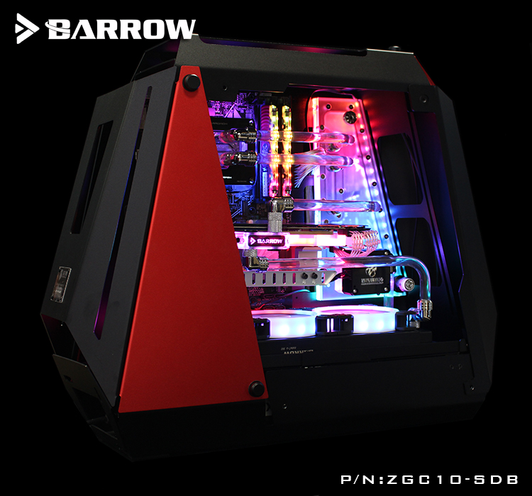 ZGC10-SDB Barrow watercooling Waterway Board for ZG 10 computer case Guide plate compatible MSI/ASUS/GIGABYTE/ASROCK SYNC