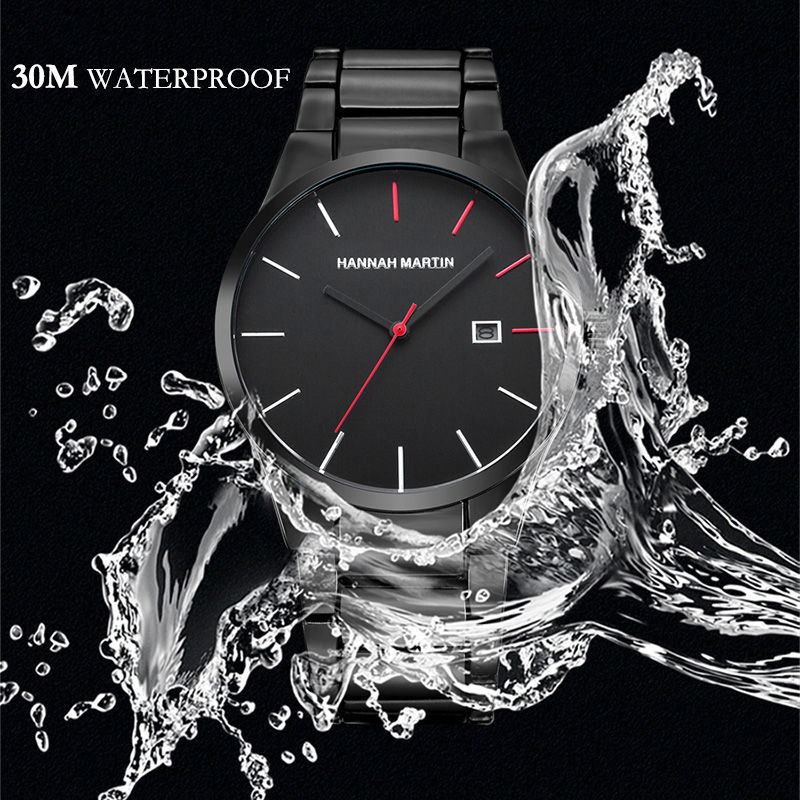 Men Sports Watches Mens Quartz Waterproof Wristwatches Male Clock Brand Luxury Military Full Steel Wrist Watch Relogio Masculino main 05