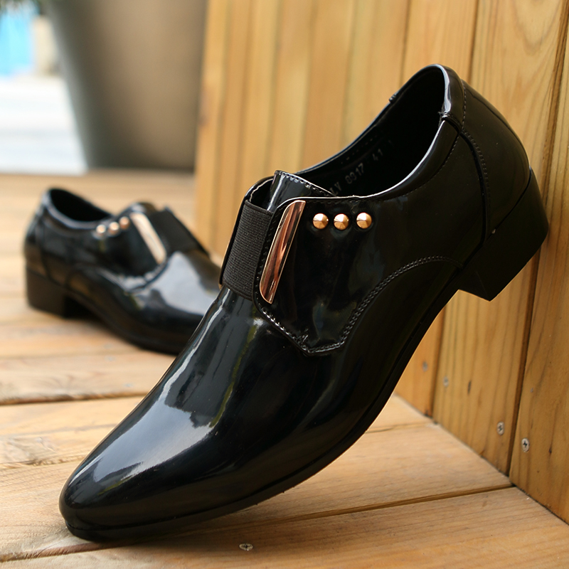 Details about  /Mens Tassel Pointy Toe Slip on Pumps British Clubwear Dress Formal Leather Shoes