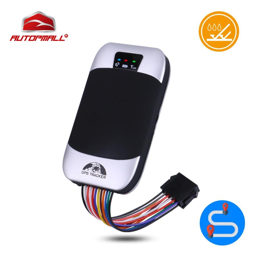 GPS Tracker Voiture GPS Locator Coban TK303F Étanche Coupée Huile Véhicule Tracker Carburant Détecter En Temps Réel Dispositif de Suivi Alarme de Choc