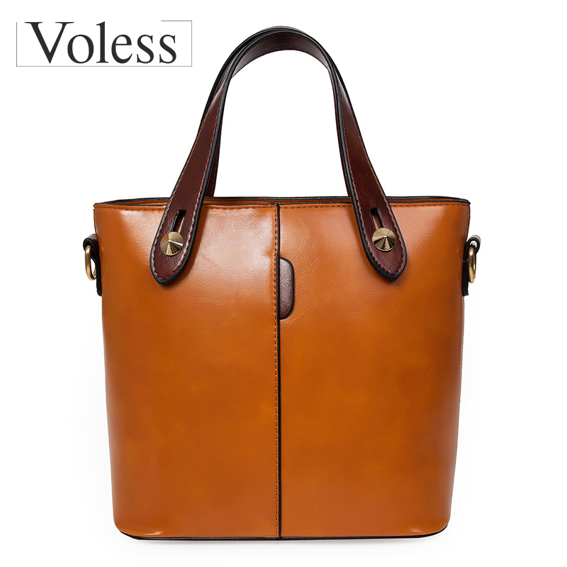 New Leather Bucket Bag Handbags Women Messenger Bags Fashion Designer Ladies Casual Tote Bag Crossbody Bags For Women Sac A Main emma yao leather women bag fashion korean tote bag new designer women messenger bags