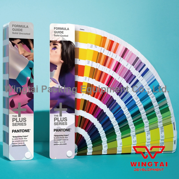 Pantone Color Guide Solid Coated & Uncoated For Paper and Plastic Printing Industry GP1601N original pantone plus series solid guide set gp1605n coated