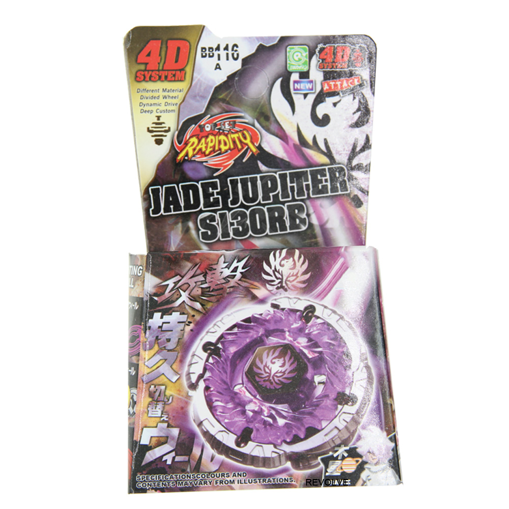 Purple BB116A Metal Fusion Spinning Top Master JADE JUPITER S130RB Kid Toy Drop Shopping