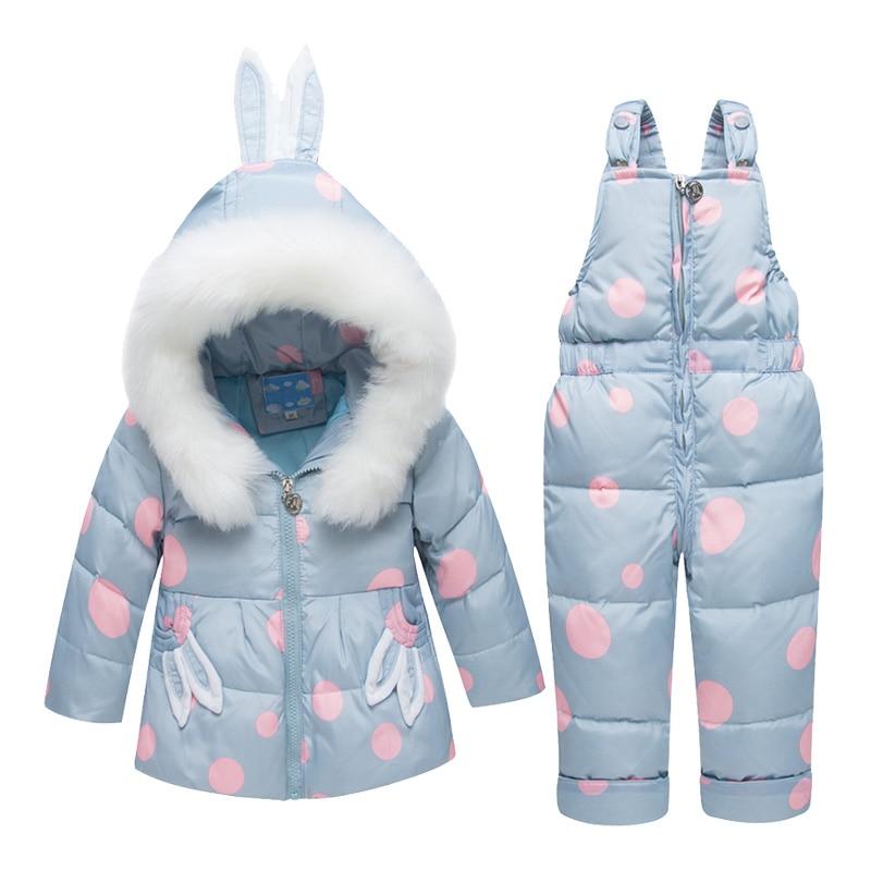 6face6026 2018 New Winter Children Clothing Sets Girls Warm Parka Down Jacket ...